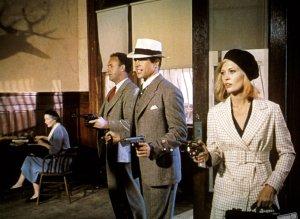 Gene Hackman, Warren Beatty and Faye Dunaway.